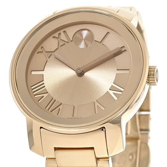 Movado Bold Stainless Steel Roman Numeral Dial 3600199 Watch Image 6