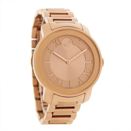 Movado Bold Stainless Steel Roman Numeral Dial 3600199 Watch Image 9