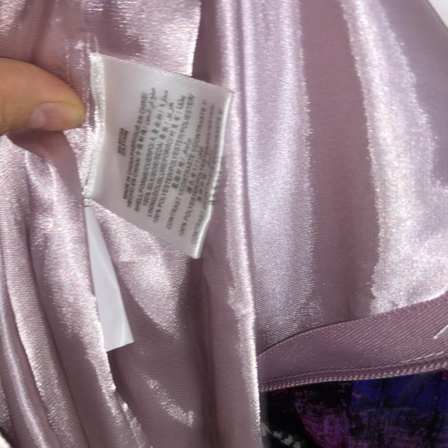 BCBGMAXAZRIA short dress Purple, Pink Silk Beaded Empire Waist Mini on Tradesy Image 4