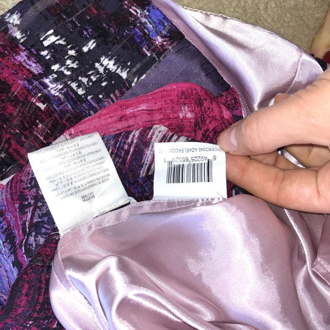 BCBGMAXAZRIA short dress Purple, Pink Silk Beaded Empire Waist Mini on Tradesy Image 6