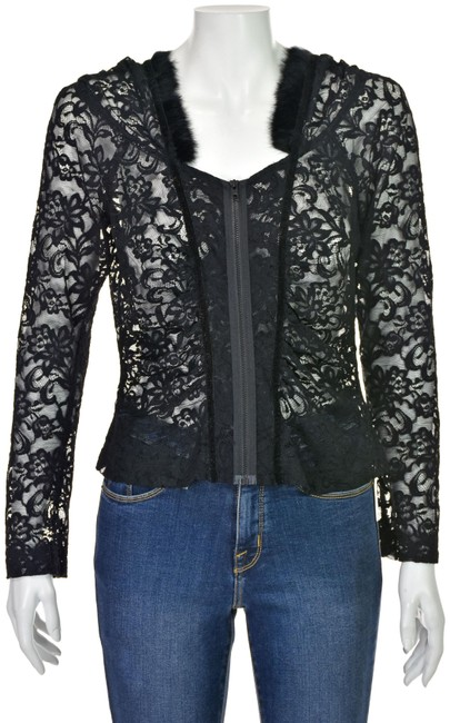 Preload https://img-static.tradesy.com/item/25854623/charles-chang-lima-lace-zipper-front-with-hood-trimmed-in-fur-black-top-0-1-650-650.jpg