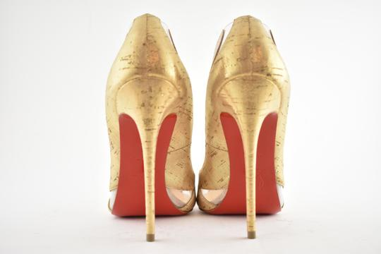 Christian Louboutin Pigalle Stiletto Classic Galeria Studded Silver Pumps Image 10