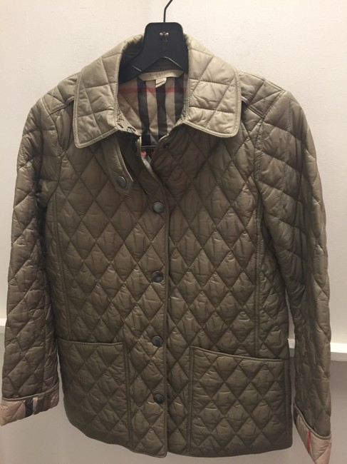 Burberry Brit Taupe Jacket Image 1