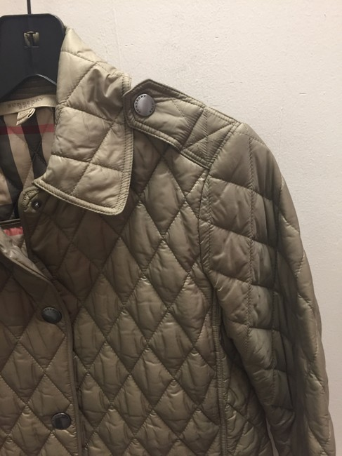Burberry Brit Taupe Jacket Image 2