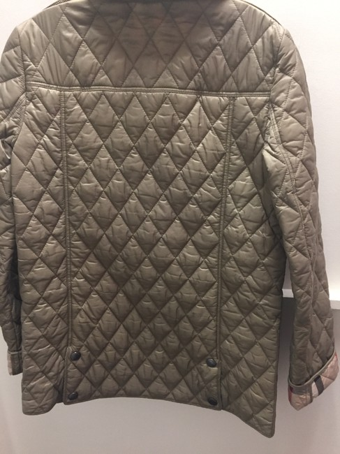 Burberry Brit Taupe Jacket Image 4