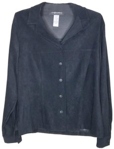 Sag Harbor Button Down Shirt black