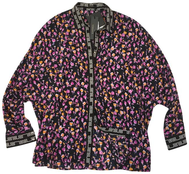 Preload https://img-static.tradesy.com/item/25854663/versace-multicolor-floral-print-blouse-size-2-xs-0-1-650-650.jpg