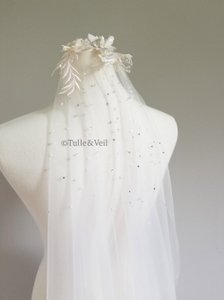 Ivory Long Cathedral - Finley Bridal Veil