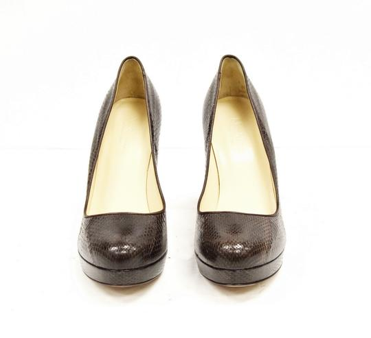Max Mara Platform Brown Pumps Image 2