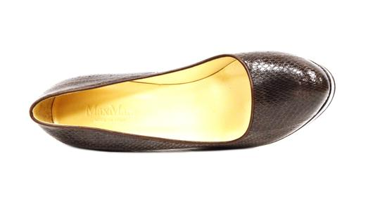 Max Mara Platform Brown Pumps Image 4
