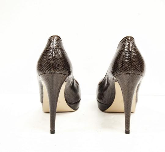Max Mara Platform Brown Pumps Image 5