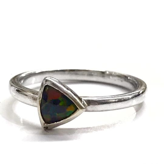 DeWitt's BEAUTIFUL!! GENUINE DEWITT ESTATE COLLECTION!! 14 Karat White Gold, and Opal Ring Image 0