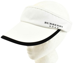 Burberry Logo Visor/Hat Sz: One Size - fits most (nu)