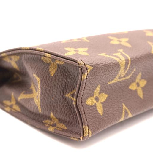 Louis Vuitton Monogram Pouch Flat Cosmetic brown Clutch Image 8