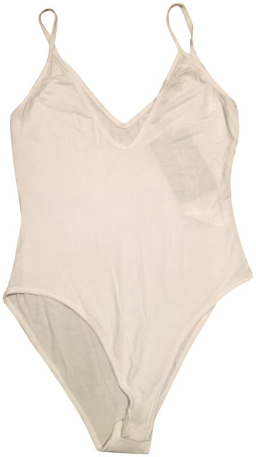 Pretty Little Things Bodysuit Top White Image 0