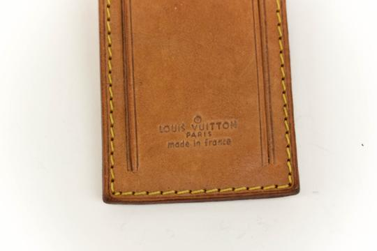 Louis Vuitton Vachetta Leather Luggage Tag & Keep all Set (my) Image 1