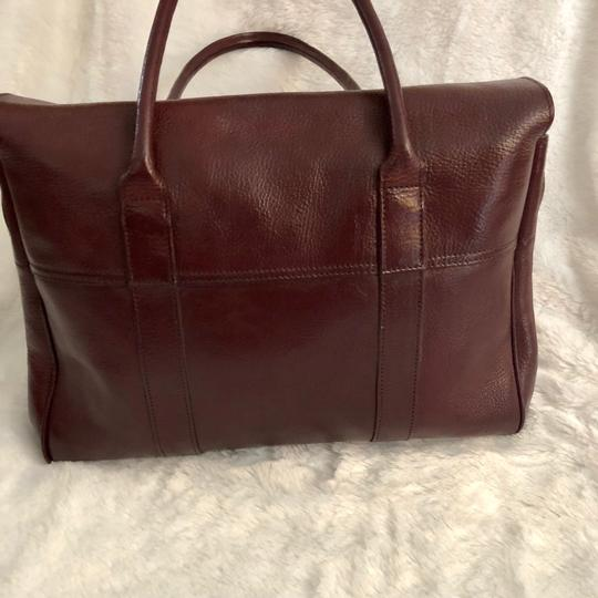 Mulberry Tote in Burgundy Image 1