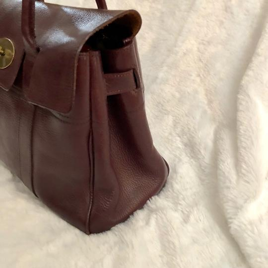 Mulberry Tote in Burgundy Image 3
