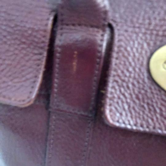 Mulberry Tote in Burgundy Image 5