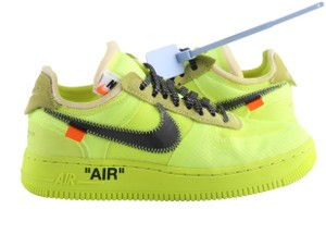 Off-White™ Nike Air Force 1 Neon Low Volt yellow Athletic