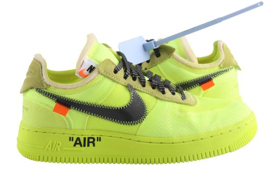 Hizo un contrato Inválido aumento  Off-White™ Yellow Off-white X Nike Air Force 1 Low Volt Sneakers Size US  5.5 Regular (M, B) - Tradesy