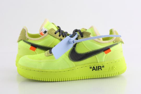 Off-White Nike Air Force 1 Neon Low Volt yellow Athletic Image 1