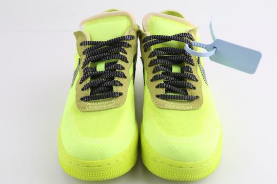 Off-White Nike Air Force 1 Neon Low Volt yellow Athletic Image 2
