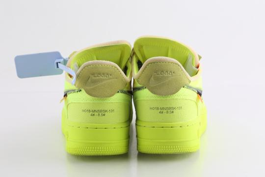 Off-White Nike Air Force 1 Neon Low Volt yellow Athletic Image 3