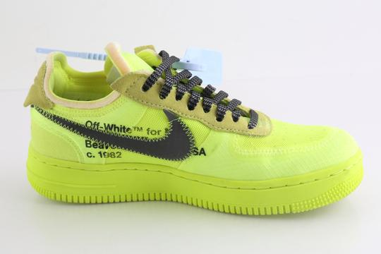 Off-White Nike Air Force 1 Neon Low Volt yellow Athletic Image 4