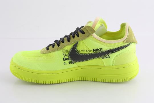 Off-White Nike Air Force 1 Neon Low Volt yellow Athletic Image 5