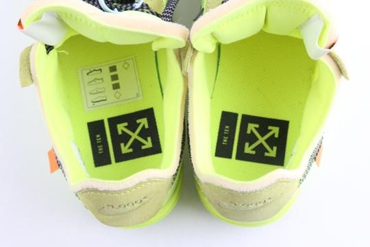 Off-White Nike Air Force 1 Neon Low Volt yellow Athletic Image 7
