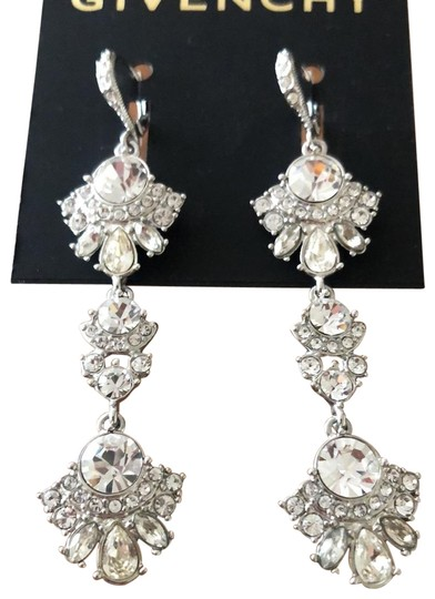Preload https://img-static.tradesy.com/item/25854899/givenchy-clear-crystal-drops-earrings-0-3-540-540.jpg