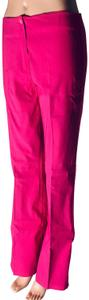 Other Lot Rise Fit Slim Fit Flare Pants Fuchsia
