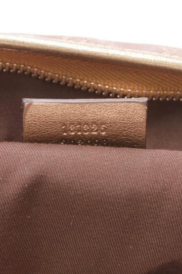Gucci Gold Messenger Bag Image 9