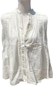 Free People Top Off-white
