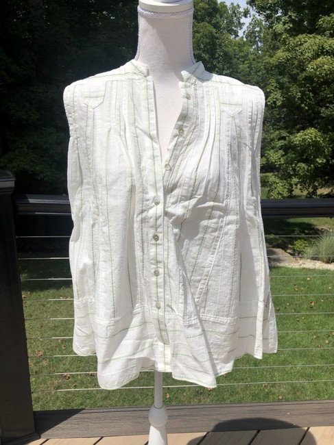 Free People Top Off-white Image 5
