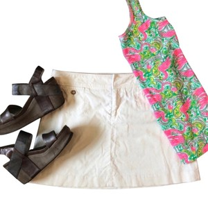 Lilly Pulitzer Mini Skirt cream