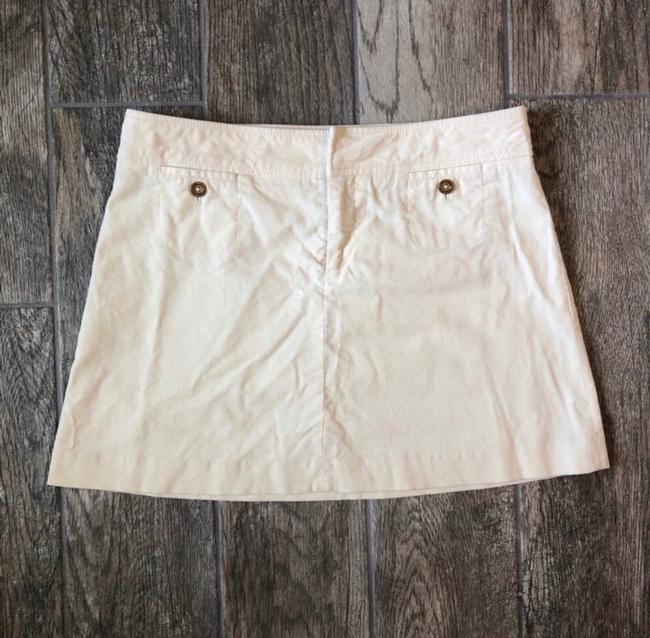 Lilly Pulitzer Mini Skirt cream Image 1