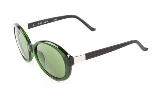Preload https://img-static.tradesy.com/item/25855010/linda-farrow-bottle-greennoir-jackie-o-acetate-sunglasses-0-0-540-540.jpg