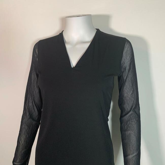 INC International Concepts Polyester Top Black Image 2
