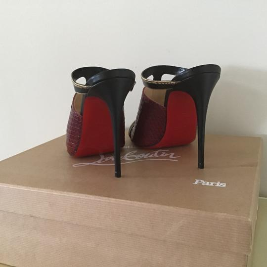 Christian Louboutin Red Sandals Image 3