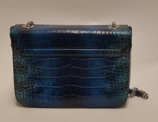 Neri Karra Missy Croc Effect Shoulder Bag Image 5