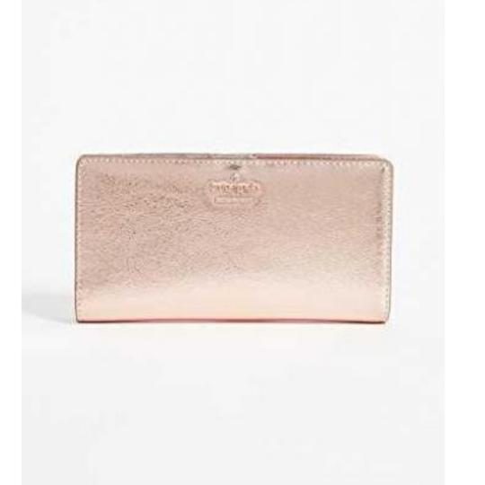 Kate Spade Kate Spade Rose Gold Stacy Wallet Image 5