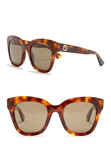 Gucci Havana Brown Square GG0029S-002 Image 6