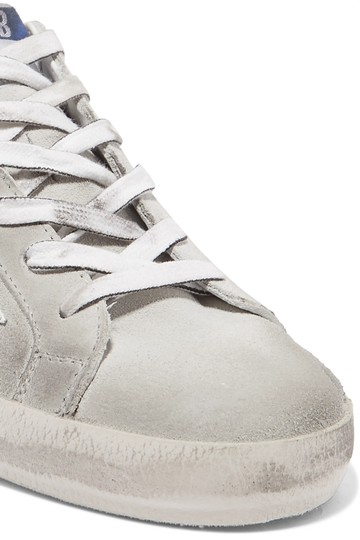 Golden Goose Deluxe Brand Leather Suede gray, white Athletic Image 1