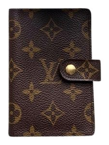 Louis Vuitton Monogram Agenda Address Book/ Card Holder Wallet
