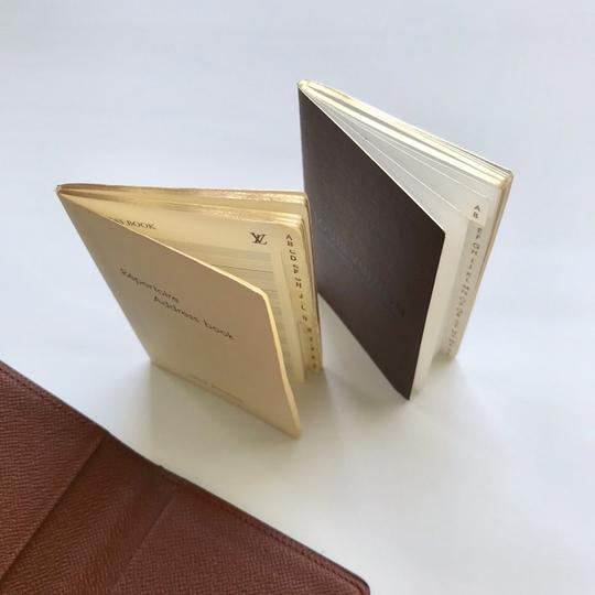 Louis Vuitton Monogram Agenda Address Book/ Card Holder Wallet Image 11