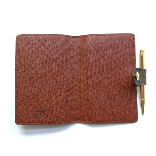 Louis Vuitton Monogram Agenda Address Book/ Card Holder Wallet Image 2