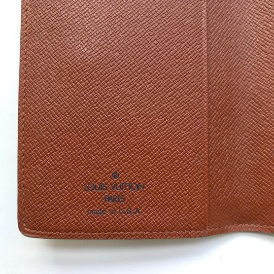 Louis Vuitton Monogram Agenda Address Book/ Card Holder Wallet Image 4