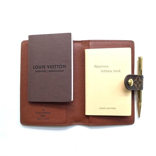 Louis Vuitton Monogram Agenda Address Book/ Card Holder Wallet Image 5